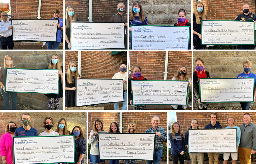 Congratulations to Our 2020 Large Grant Recipients
