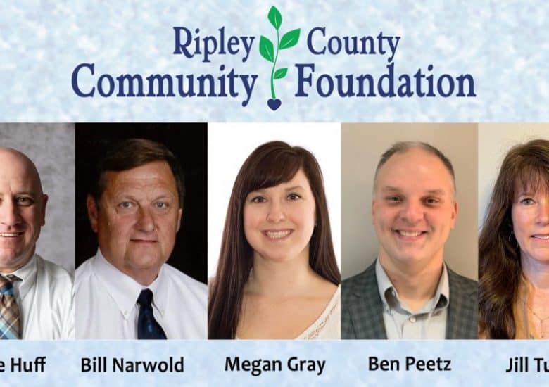 Ripley County Community Foundation Recognizes Outgoing Board Members and Welcomes New Board Members