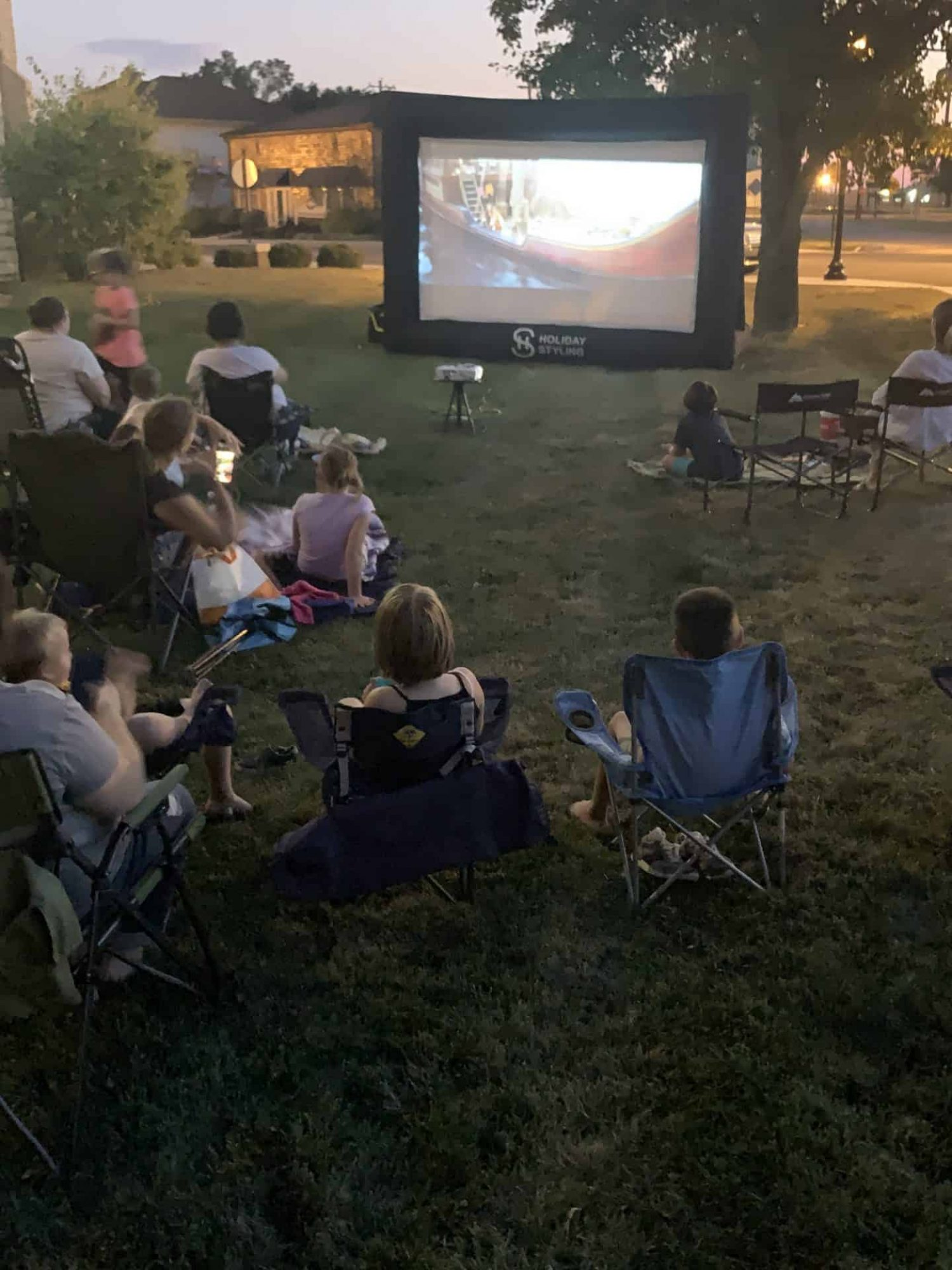 Osgood Public Library - Outdoor Movie