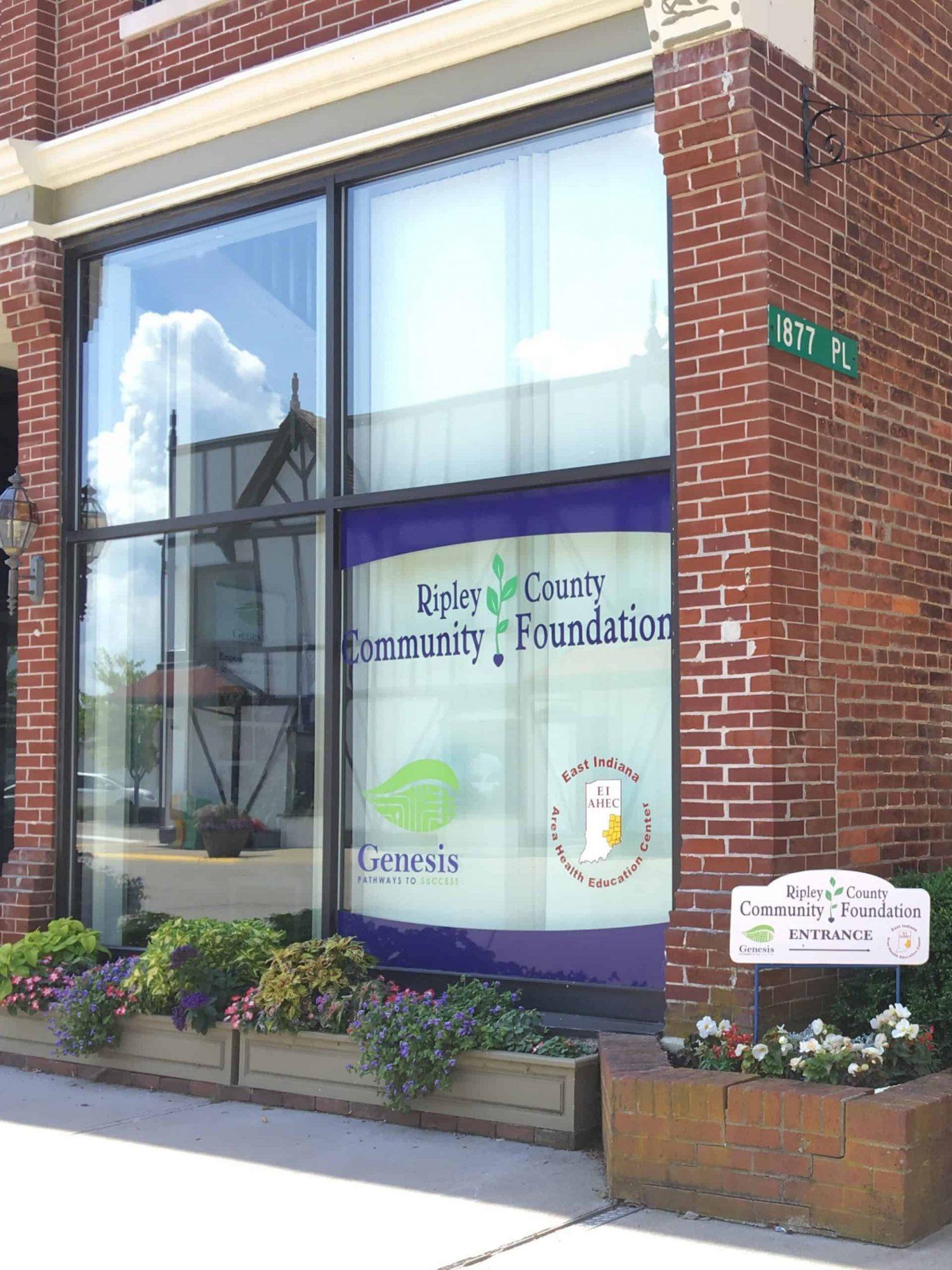 Ripley County Community Foundation Office - July 2019